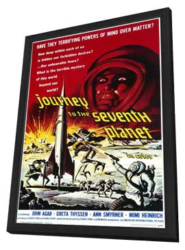 Journey to the Seventh Planet - 11 x 17 Movie Poster - Style A - in Deluxe Wood Frame
