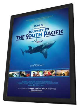 Journey to the South Pacific - 11 x 17 Movie Poster - Style A - in Deluxe Wood Frame