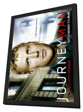 Journeyman - 11 x 17 TV Poster - Style A - in Deluxe Wood Frame
