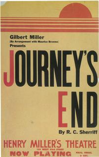 Journey's End (Broadway) - 14 x 22 Poster - Style A
