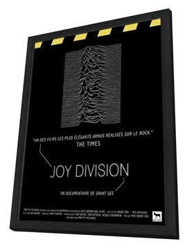 Joy Division - 27 x 40 Movie Poster - French Style A - in Deluxe Wood Frame