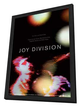 Joy Division - 27 x 40 Movie Poster - German Style A - in Deluxe Wood Frame