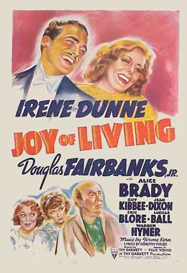 Joy of Living - 11 x 17 Movie Poster - Style A