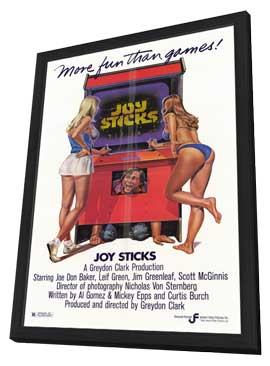 Joy Sticks - 11 x 17 Movie Poster - Style A - in Deluxe Wood Frame
