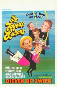 Joyeux lurons, Les - 27 x 40 Movie Poster - Belgian Style A