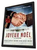 Joyeux No�l - 11 x 17 Movie Poster - French Style A - in Deluxe Wood Frame