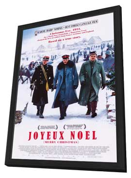 Joyeux No�l - 27 x 40 Movie Poster - Style A - in Deluxe Wood Frame