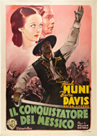 Juarez - 27 x 40 Movie Poster - Italian Style A