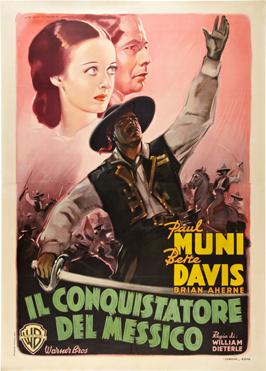 Juarez - 27 x 40 Movie Poster - Italian Style A