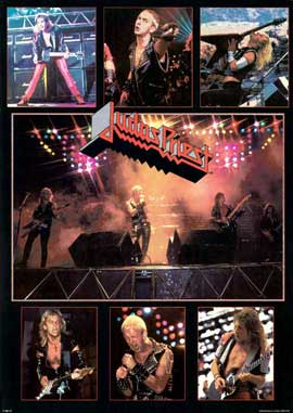 Judas Priest - 11 x 17 Music Poster - Style A
