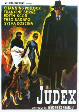 Judex - 11 x 17 Movie Poster - Belgian Style A