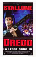 Judge Dredd - 11 x 17 Movie Poster - Italian Style A
