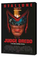 Judge Dredd - 27 x 40 Movie Poster - Style B - Museum Wrapped Canvas