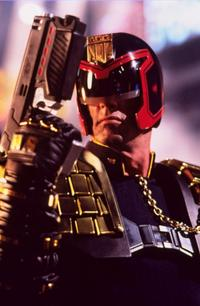 Judge Dredd - 8 x 10 Color Photo #1