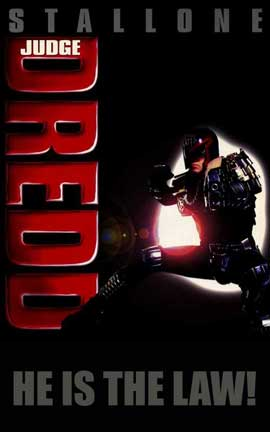 Judge Dredd - 11 x 17 Movie Poster - Style B