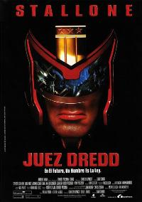 Judge Dredd - 27 x 40 Movie Poster - German Style A