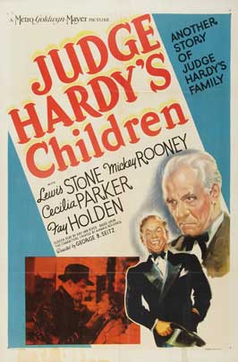 Judge Hardy's Children - 27 x 40 Movie Poster - Style A