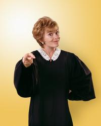 Judge Judy - 8 x 10 Color Photo #6