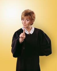 Judge Judy - 8 x 10 Color Photo #9