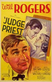 Judge Priest - 11 x 17 Movie Poster - Style B