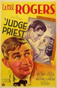 Judge Priest - 27 x 40 Movie Poster - Style B