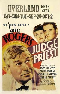 Judge Priest - 11 x 17 Movie Poster - Style C