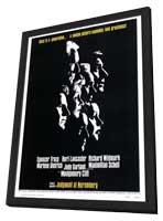 Judgment at Nuremberg - 27 x 40 Movie Poster - Style A - in Deluxe Wood Frame