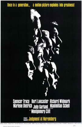 Judgment at Nuremberg - 11 x 17 Movie Poster - Style A
