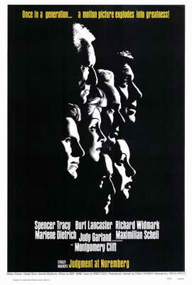 Judgment at Nuremberg - 27 x 40 Movie Poster - Style A