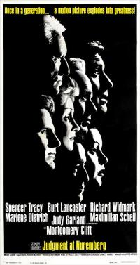 Judgment at Nuremberg - 20 x 40 Movie Poster - Style B