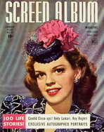 Judy Garland - 11 x 17 Screen Album Magazine Cover 1950's