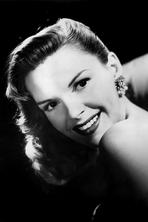 Judy Garland - Portrait of Judy Garland with Black Background