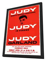 Judy In Person (Broadway) - 11 x 17 Poster - Style A - in Deluxe Wood Frame