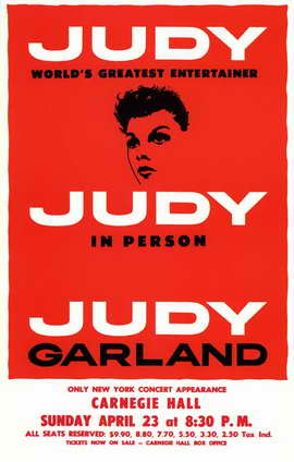 Judy In Person (Broadway) - 11 x 17 Poster - Style A