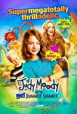 Judy Moody and the Not Bummer Summer - 27 x 40 Movie Poster - Style A