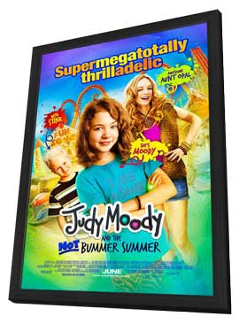 Judy Moody and the Not Bummer Summer - 11 x 17 Movie Poster - Style A - in Deluxe Wood Frame