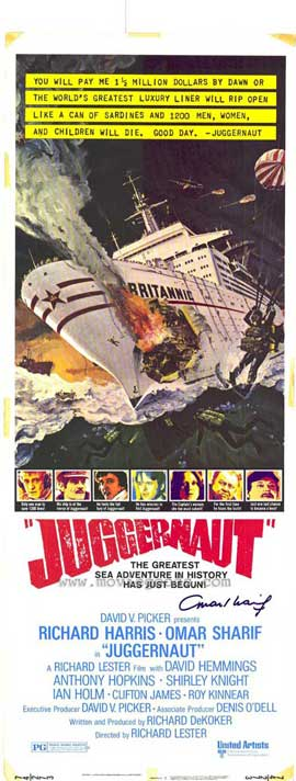 Juggernaut - 11 x 17 Movie Poster - Style A