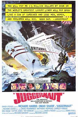 Juggernaut - 11 x 17 Movie Poster - Style B