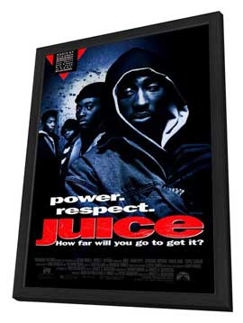 Juice - 27 x 40 Movie Poster - Style A - in Deluxe Wood Frame