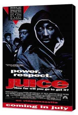 Juice - 11 x 17 Movie Poster - Style B - Museum Wrapped Canvas