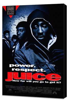 Juice - 27 x 40 Movie Poster - Style A - Museum Wrapped Canvas