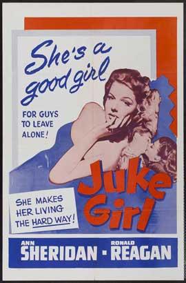 Juke Girl - 11 x 17 Movie Poster - Style B