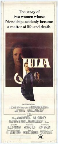 Julia - 14 x 36 Movie Poster - Insert Style A