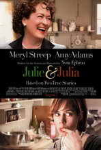 Julie and Julia - 11 x 17 Movie Poster - Style B