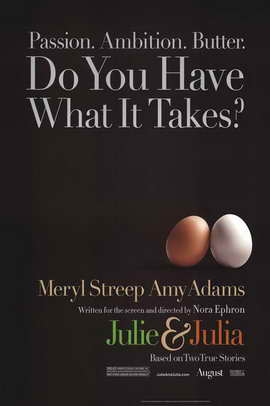 Julie and Julia - 27 x 40 Movie Poster - Style A