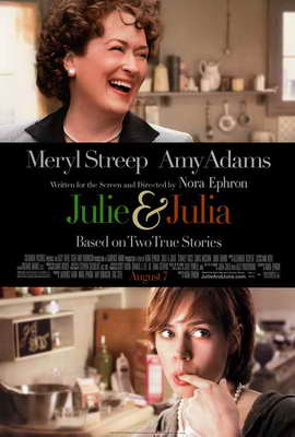 Julie and Julia - 27 x 40 Movie Poster - Style B