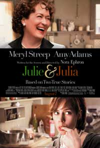 Julie and Julia - 43 x 62 Movie Poster - Bus Shelter Style B