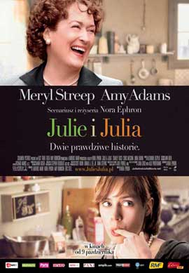 Julie and Julia - 11 x 17 Movie Poster - Polish Style A