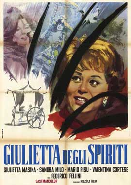 Juliet of the Spirits - 11 x 17 Movie Poster - Italian Style A