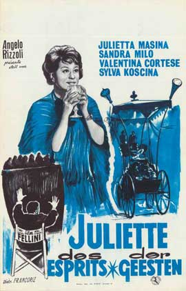 Juliet of the Spirits - 11 x 17 Movie Poster - Belgian Style A